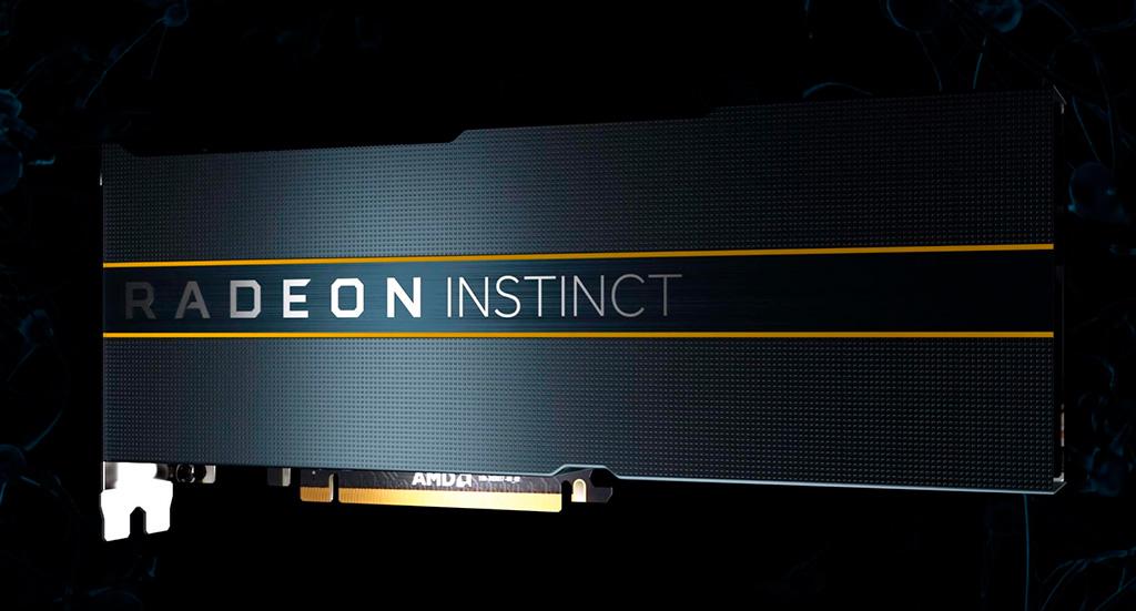 AMD Radeon Instinct M100 вдвое мощнее NVIDIA A100?