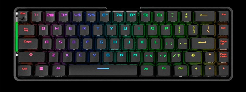 """ASUS ROG Falchion - беспроводная клавиатура в формате """"65%"""""""