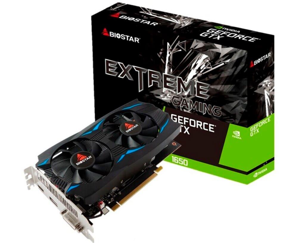 Biostar готовит видеокарты GeForce GTX 1650 и GTX 1660 серии Xtreme Gaming