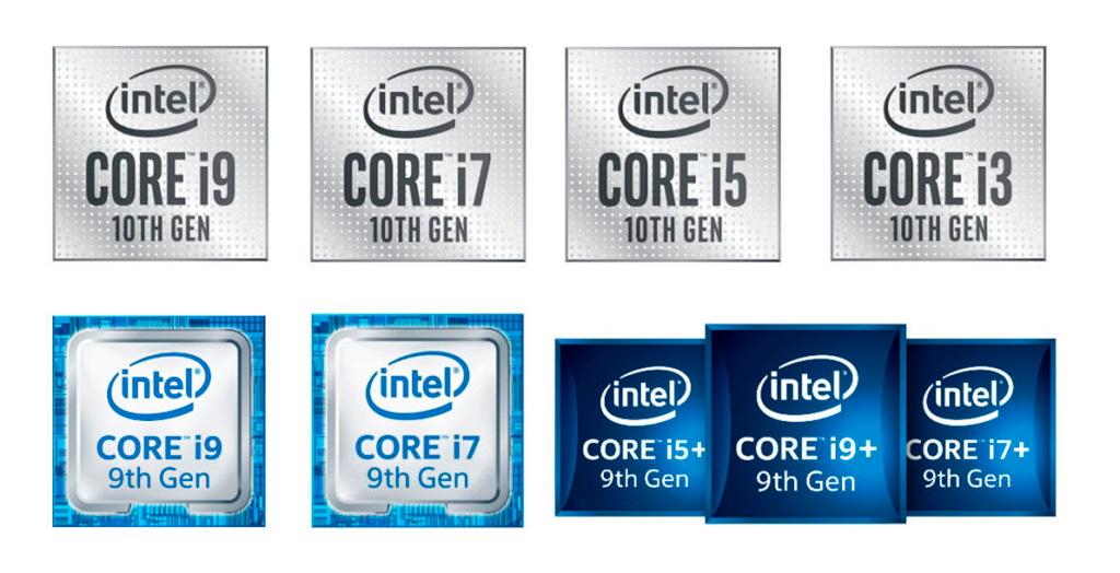 Intel меняет логотипы процессоров и готовит новую серию Evo