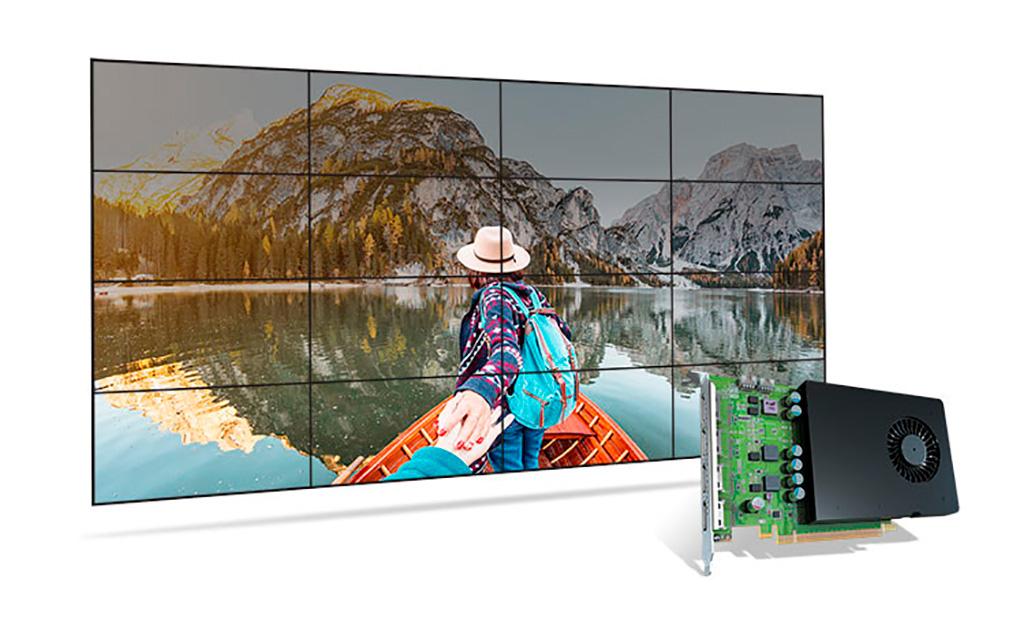 Начались поставки видеокарт Matrox D1450 на GPU NVIDIA