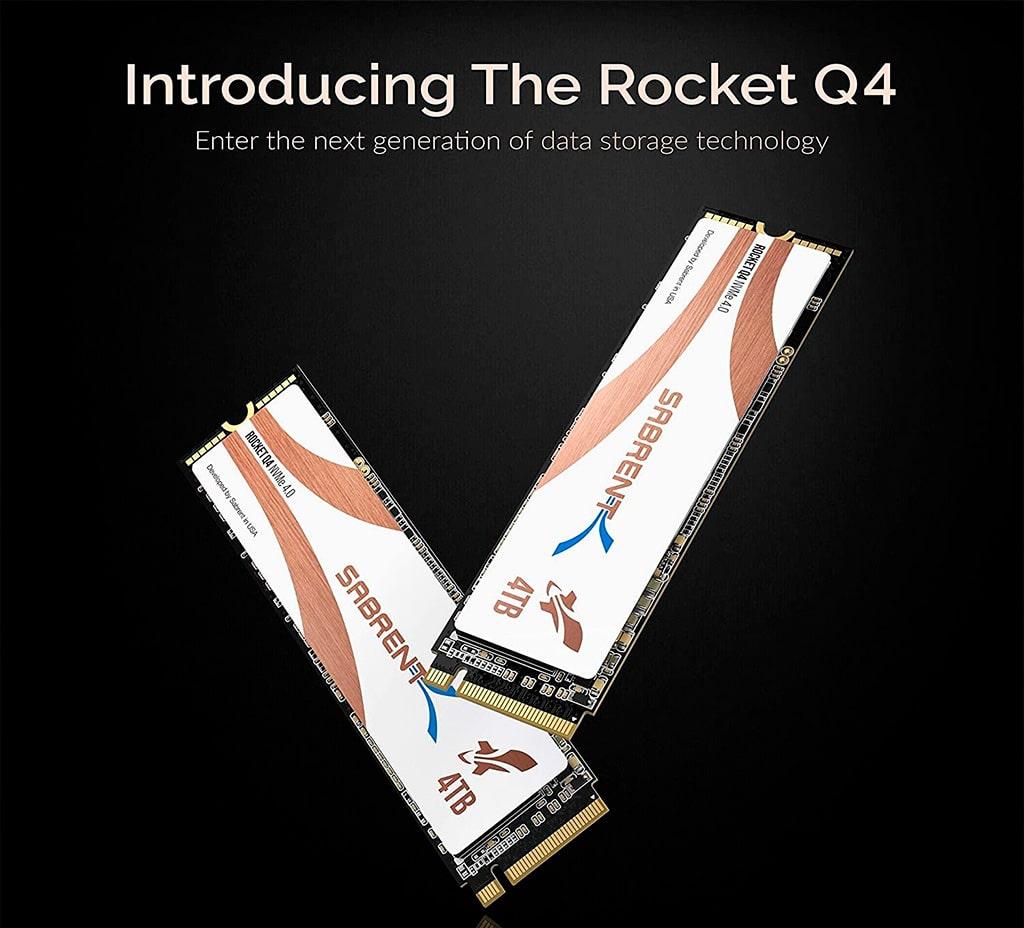 Sabrent Rocket Q4 – первый в мире PCI-E 4.0 накопитель ёмкостью 4 ТБ