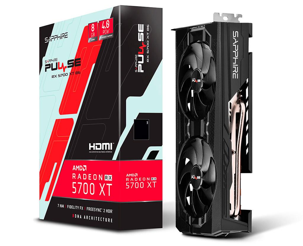Видеокарты Sapphire Radeon RX 5700 XT Pulse BE лишись ряда «фишек», присущих оригинальным Pulse
