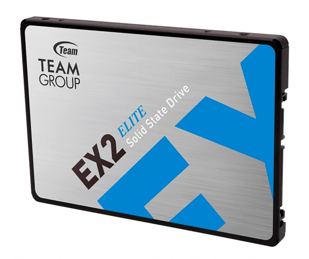 Накопители Team EX2 базируются на QLC-памяти, но это не точно
