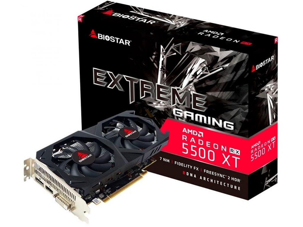 Biostar анонсировала Radeon RX 5700 XT и RX 5500 XT в собственном исполнении