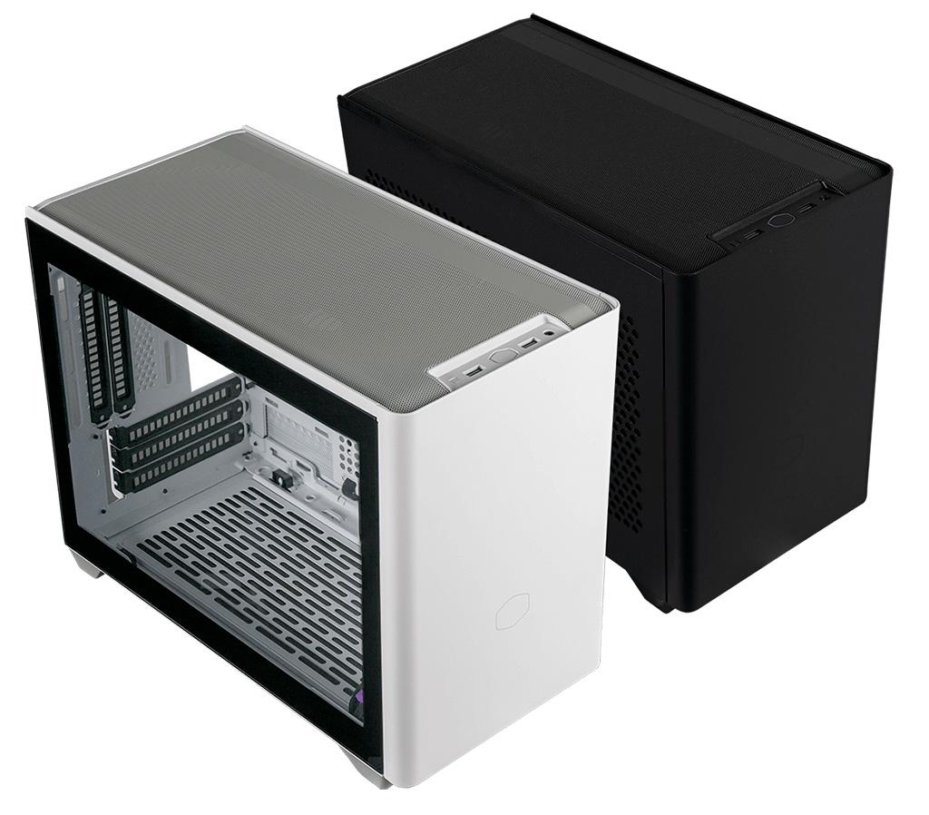 Корпуса CoolerMaster MasterBox NR200 и NR200P утыканы в дырочку обильно