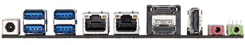 Плата Gigabyte GA-IMB410TN рассчитана под процессоры с TDP не более 65 Вт