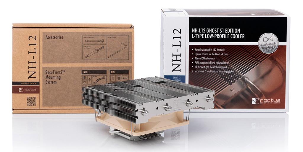 Noctua выпустила процессорный кулер NH-L12 Ghost S1 Edition