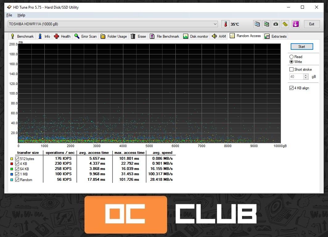 Жесткие диски Toshiba S300 HDWT31A и Toshiba X300 HDWR11A: обзор. Сравнение серий Surveillance и Performance
