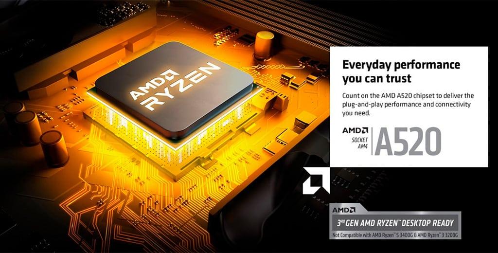 Разгон процессора на чипсете AMD A520 – это реально
