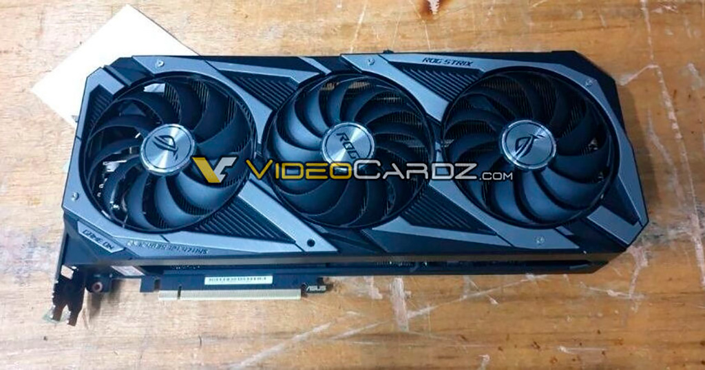 Рассматриваем ASUS GeForce RTX 3090 ROG Strix