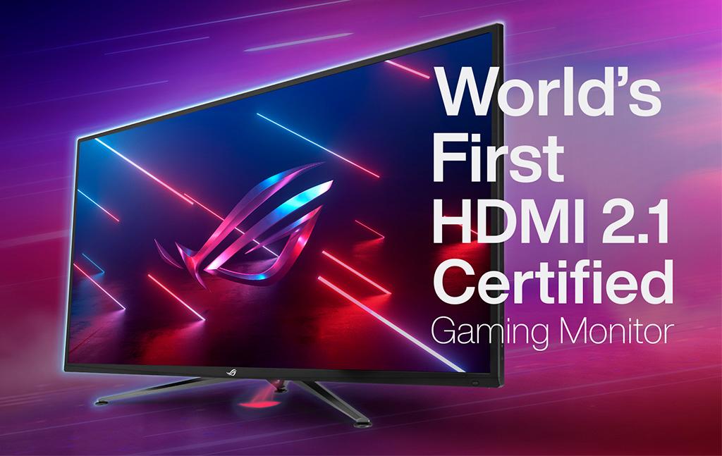 Безымянный монитор ASUS ROG получил разрешение 4К с частотой 120 Гц и сертификацию HDMI 2.1