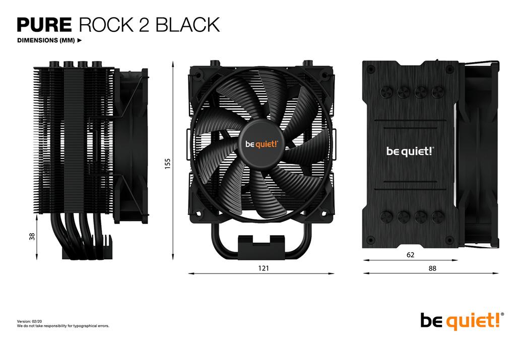 Be Quiet! Pure Rock 2 Black: обзор. Разумный выбор под среднебюджетный процессор