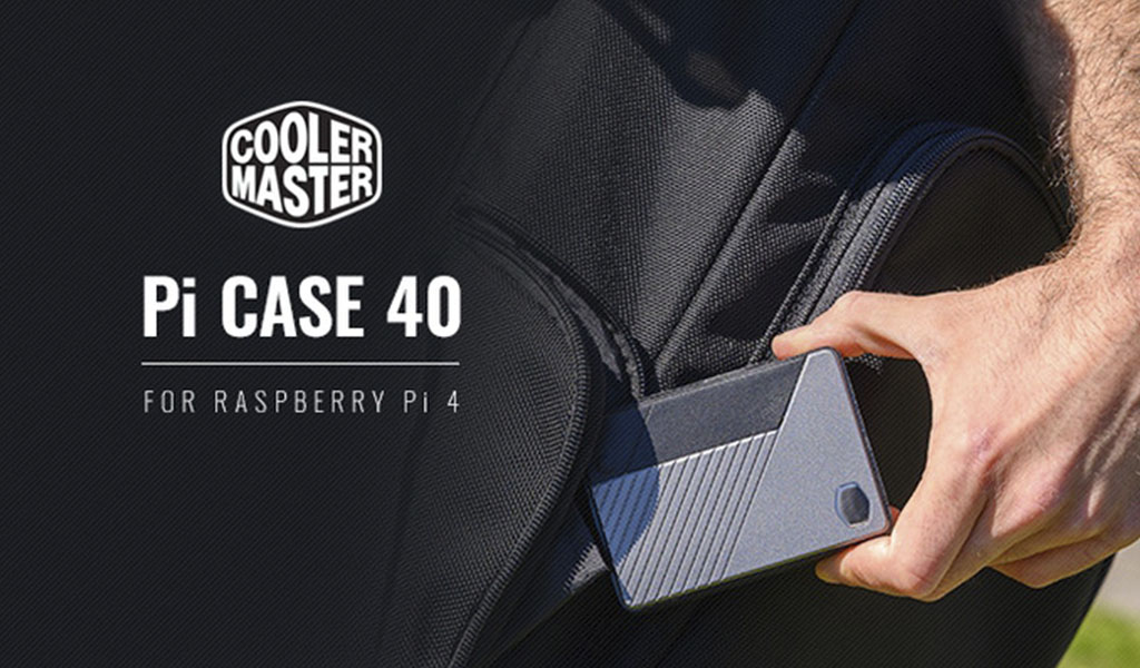 Корпус Pi Case 40 для крохи Raspberry Pi 4 – заманчивое предложение от Cooler Master