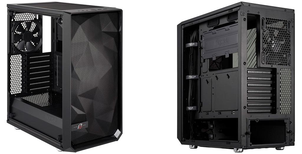 Коллаборация Fractal Design и ASRock породила корпус Meshify C TG Phantom Gaming Edition