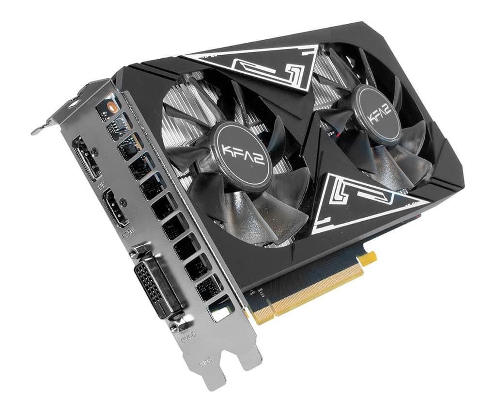 Видеокарта KFA2 GeForce GTX 1650 GDDR6 EX Plus базируется на GPU TU116