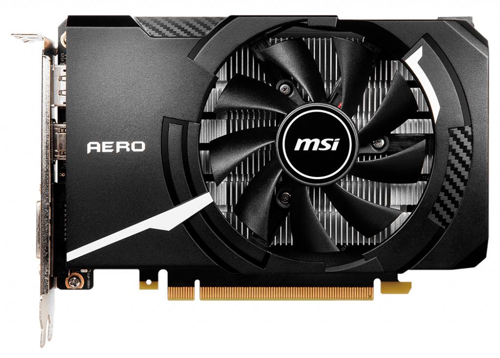 MSI GeForce GTX 1650 D6 Aero ITX OCV1 использует память GDDR6