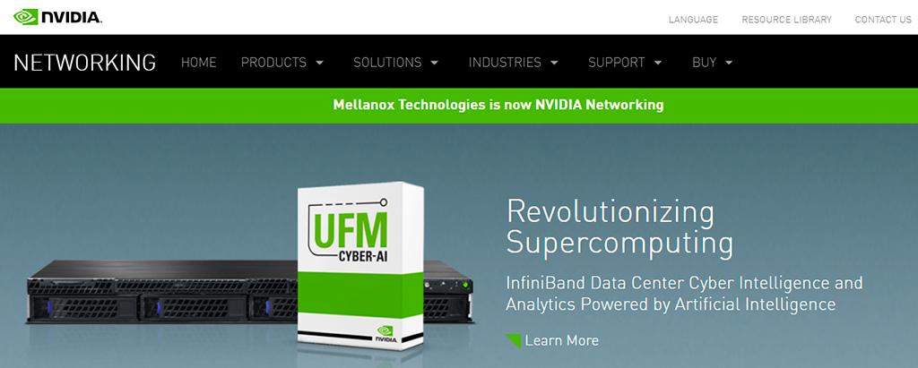 Mellanox окончательно поглощена NVIDIA. Теперь это NVIDIA Networking