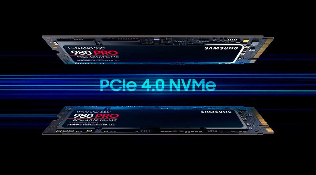 Официально представлены накопители Samsung 980 Pro с интерфейсом PCI-Express 4.0