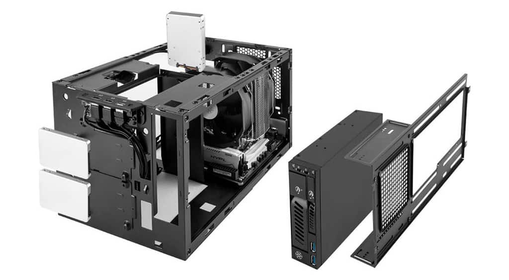 Корпус-куб SilverStone Sugo 14 имеет 6 конфигураций размещения «железа»