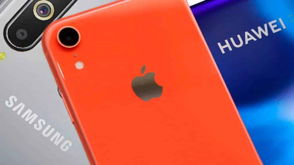 Samsung обошла Huawei по поставкам смартфонов во втором квартале