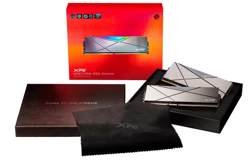 В серию ОЗУ ADATA XPG Spectrix D50 Xtreme RGB вошли исключительно скоростные комплекты