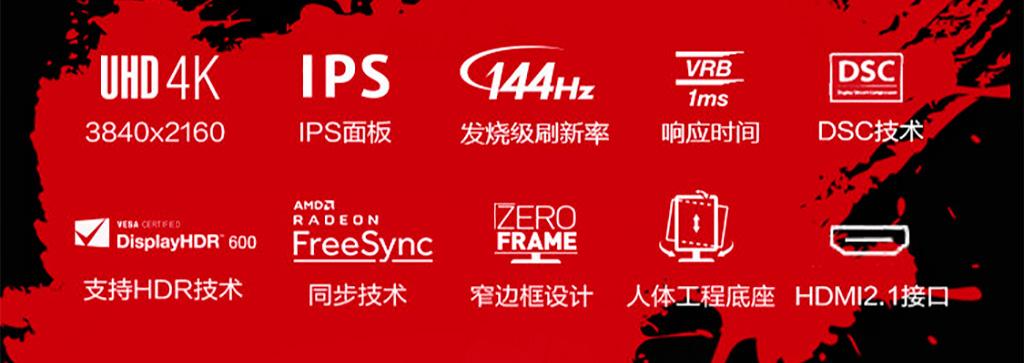 Acer VX282K – первый монитор с HDMI 2.1