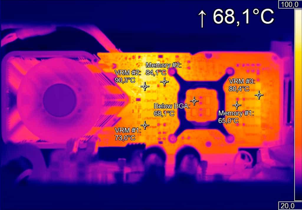 Память GDDR6X в составе GeForce RTX 3080 FE разогревается свыше 100 градусов