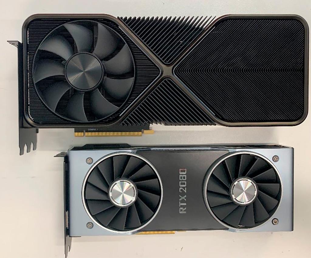 NVIDIA GeForce RTX 3090 сфотографирована там, где ей положено быть