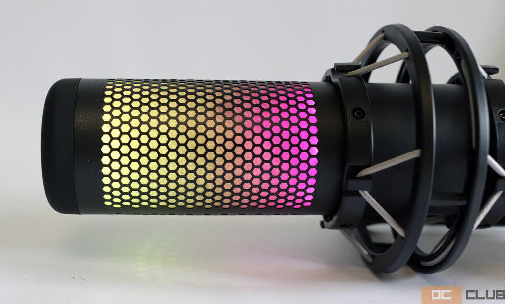 QuadCast S от HyperX: мультифункционал, RGB-подсветка и чистый звук