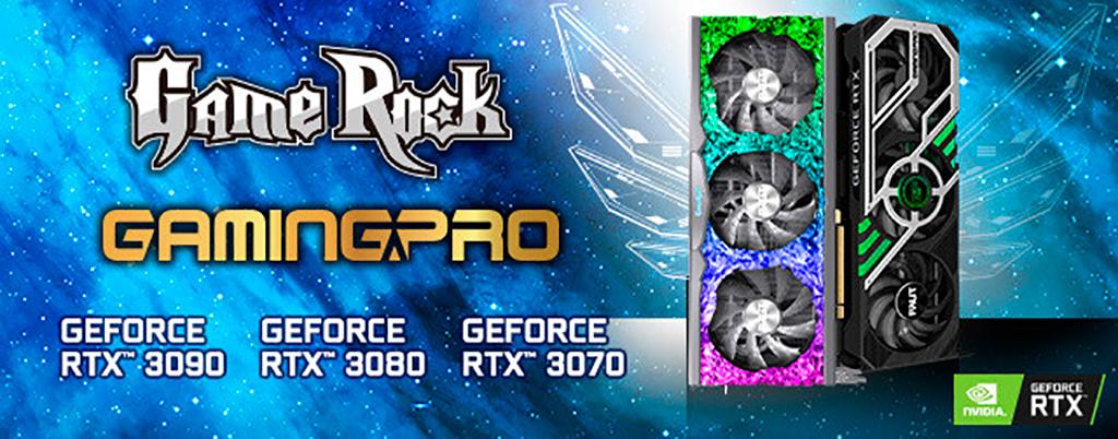 RTX 3000 в видении Palit: модели GameRock и GamingPro