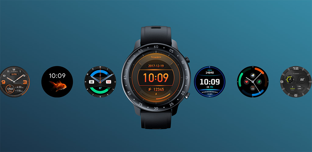 Умные часы TicWatch GTX обещают 10 дней автономной работы