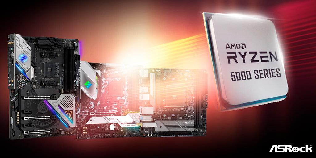 ASRock начала распространять BIOS-ы с поддержкой чипов Ryzen 5000
