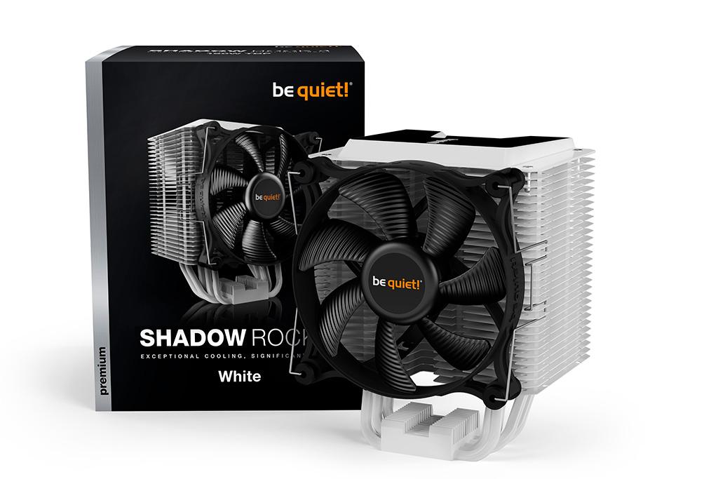 Be Quiet! готовит процессорный кулер Shadow Rock 3 White