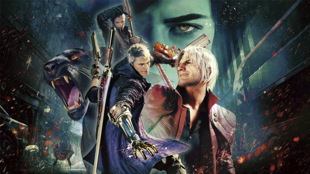 Devil May Cry 5 загружается за 4 секунды на PS5