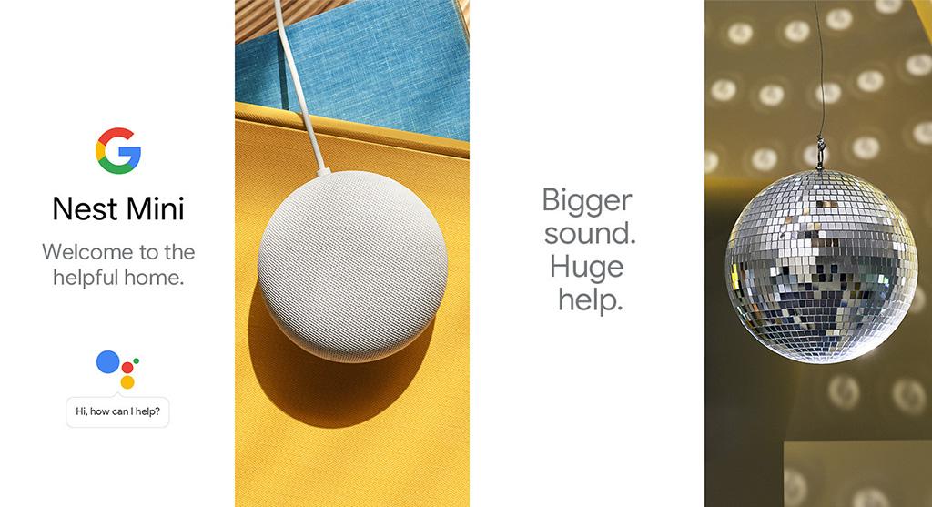 Умная колонка Nest Mini от Google продается сейчас за 30 долларов