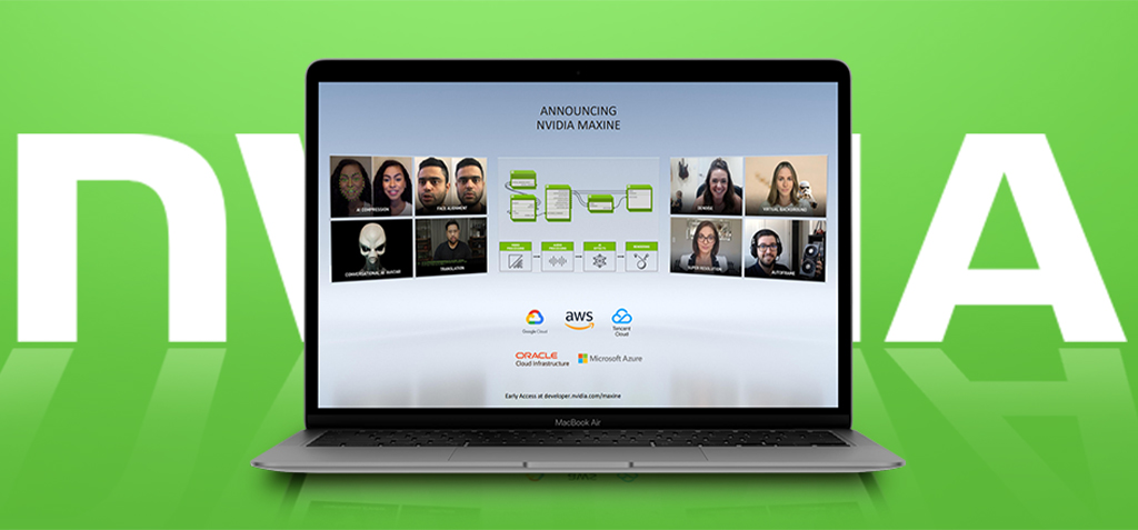 NVIDIA Maxine – облачная платформа для стриминга и видеоконференций