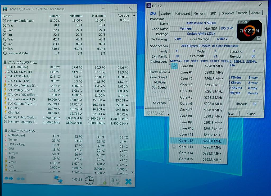 Der8auer «приколхозил» водоблок EK с элементом Пелетье на процессор AMD Ryzen 9 5950X