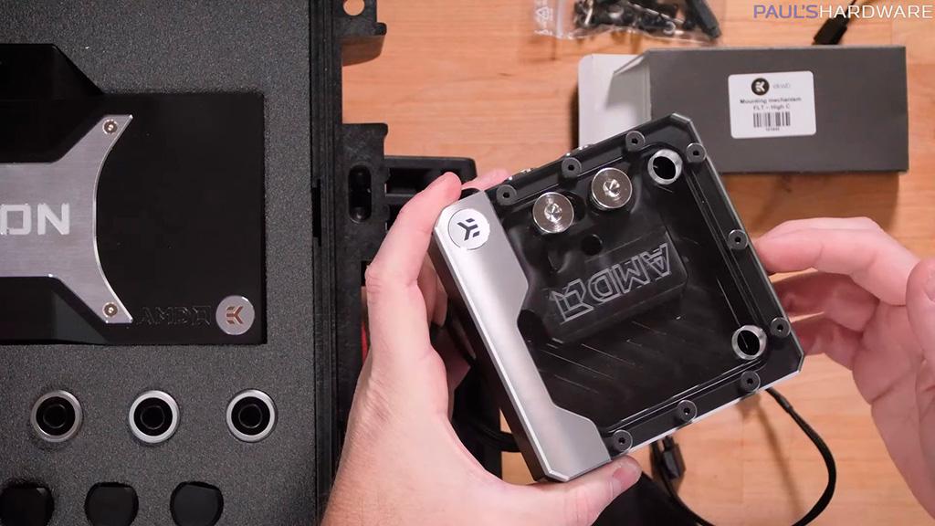 EKWB Radeon 6000 Water Cooling Kit – комплект ультимативного охлаждения для AMD-системы