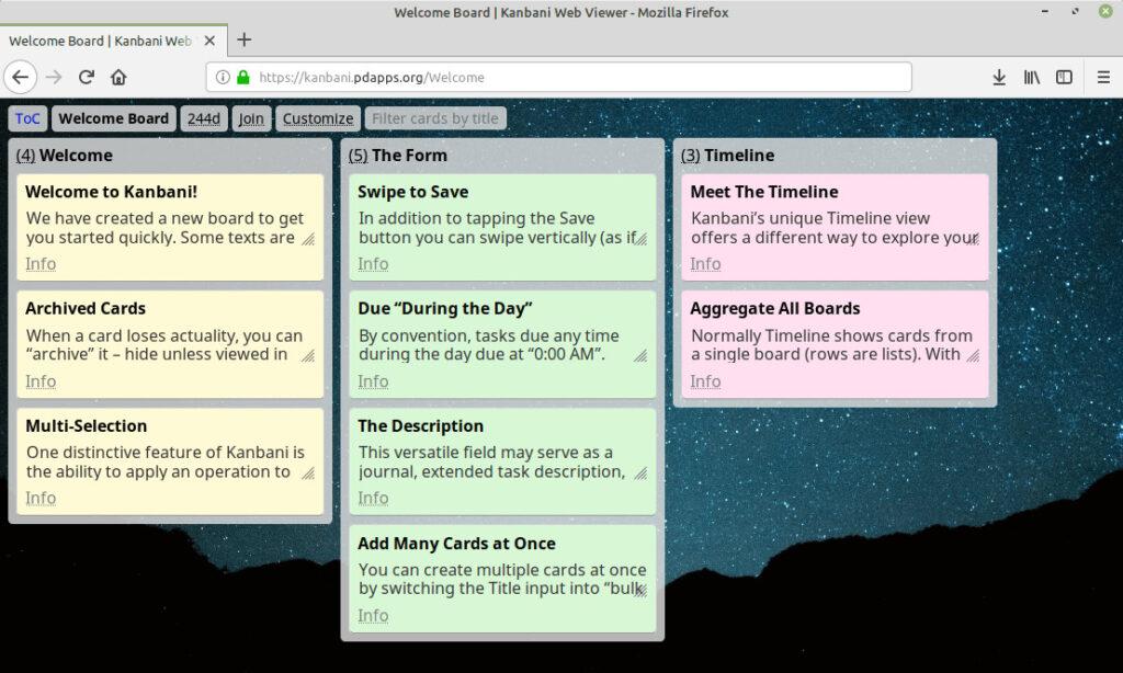 Рабочая среда Kanbani: бесплатное приложение для управления проектными задачами