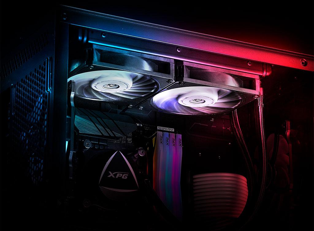 XPG представила вентиляторы Vento Pro PWM с баснословным ресурсом