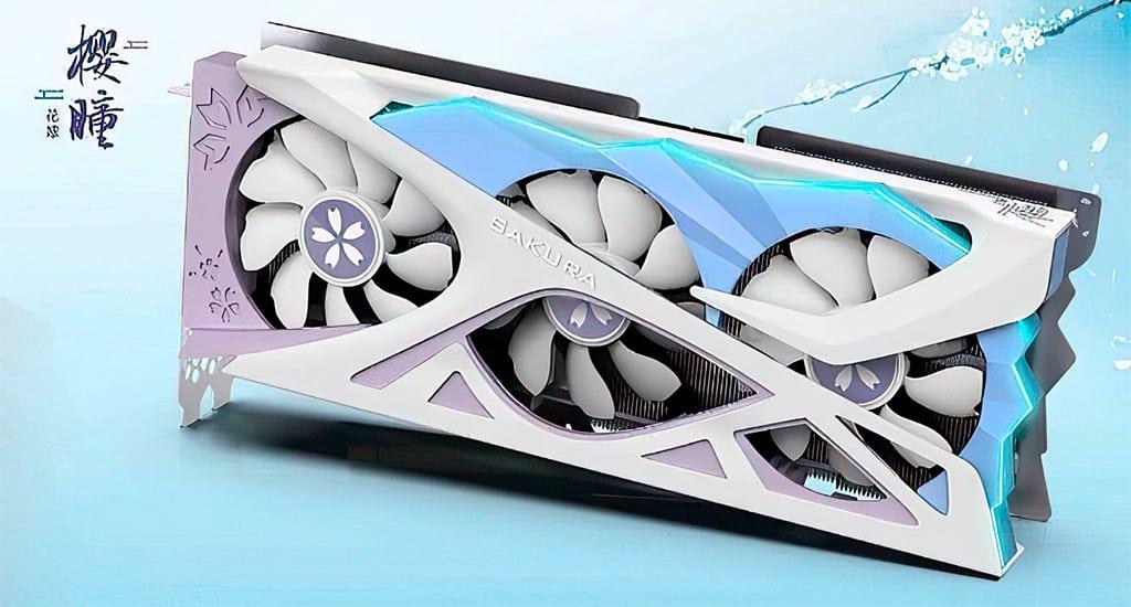 Yeston Radeon RX 6800 XT Sakura Edition – самая «нежная» видеокарта
