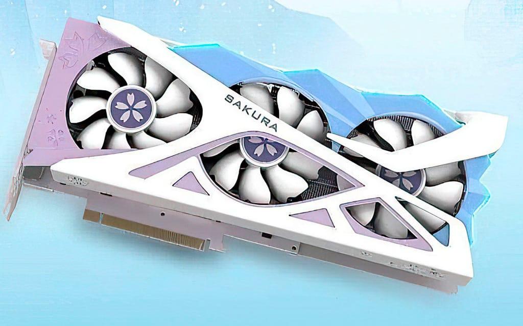 Yeston Radeon RX 6800 XT Sakura Edition - самая «нежная» видеокарта