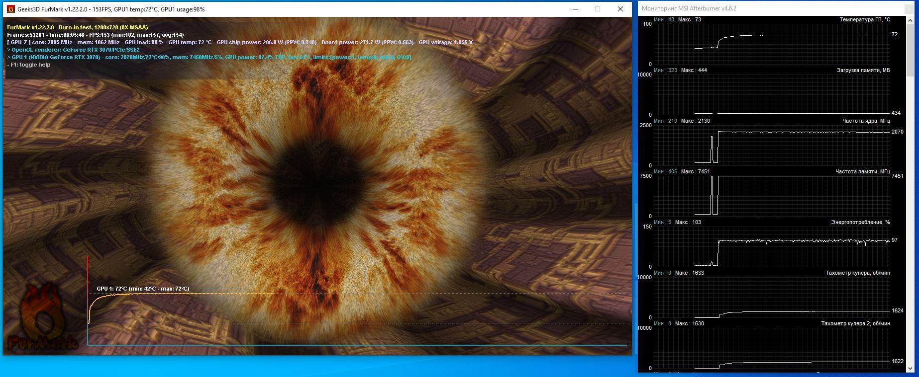 Palit GeForce RTX 3070 JetStream OC: обзор. JetStream вырос