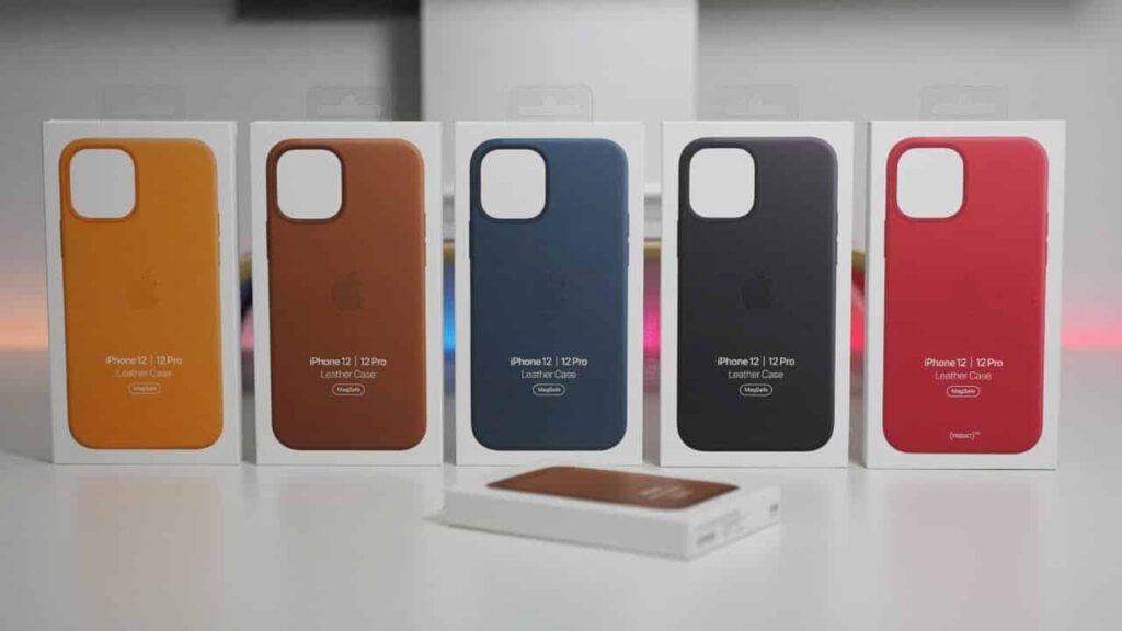 Apple представила симпатичные кожаные чехлы для iPhone 12 с кармашком для MagSafe