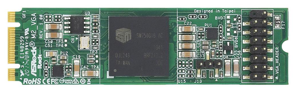ASRock M2_VGA – самая необычная и самая маленькая видеокарта