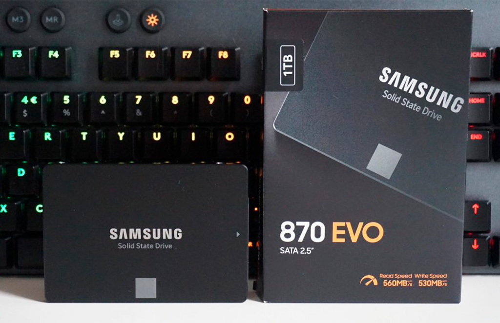 SSD Samsung 870 Evo официально представлены