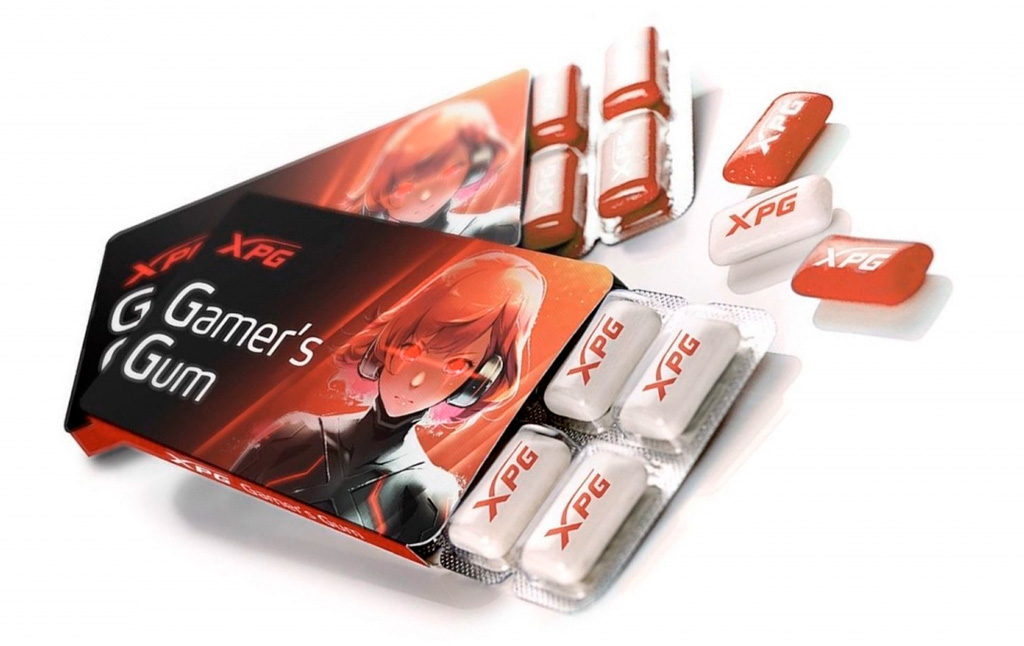Геймерам будет предложена геймерская жвачка XPG Gaming Gum