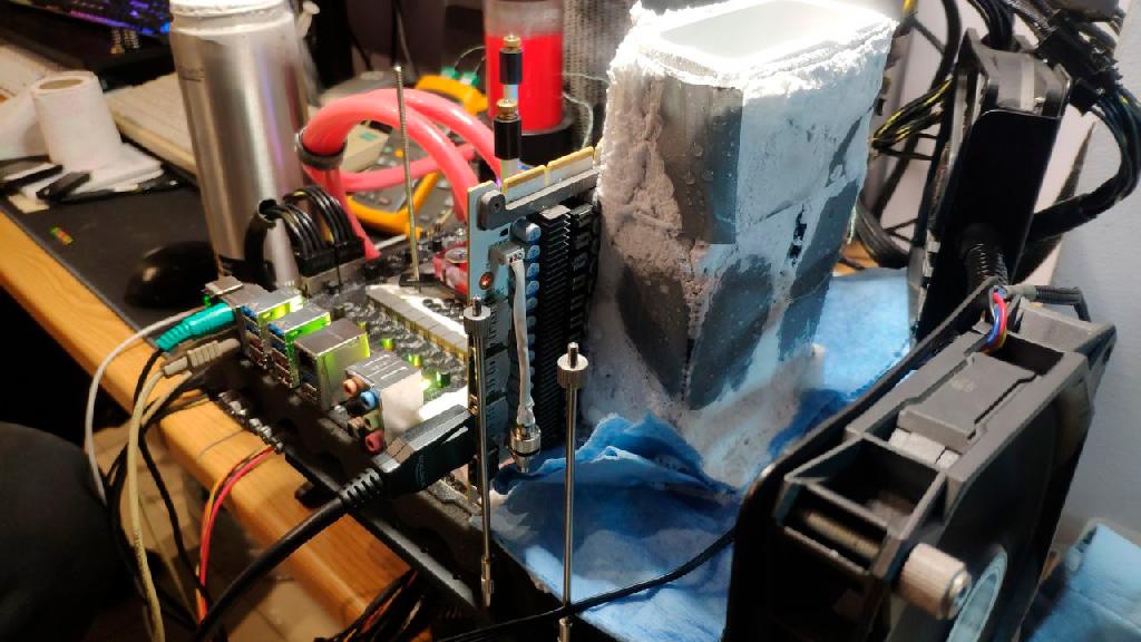 Galax GeForce RTX 3090 HOF обновила 16 мировых оверклокерских рекордов
