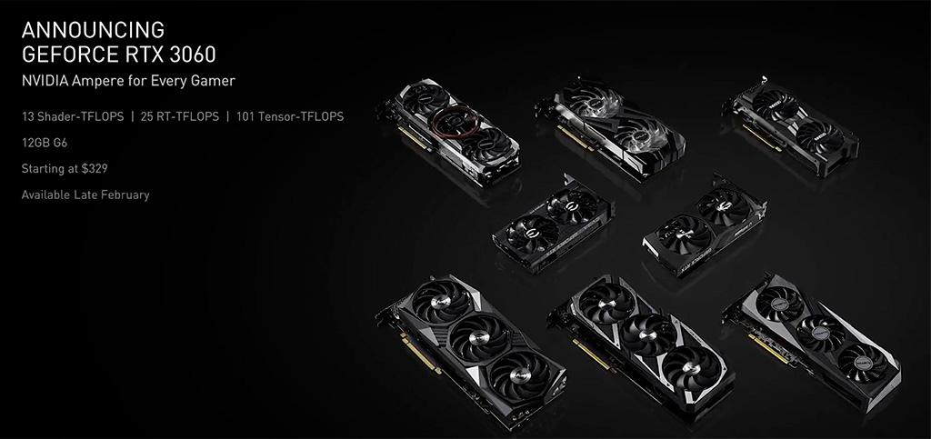 NVIDIA занижает производительность GeForce RTX 3060 в майнинге, но готовит майнерские видеокарты